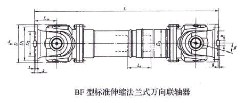 BF型标准伸缩法兰式万向betway88必威app